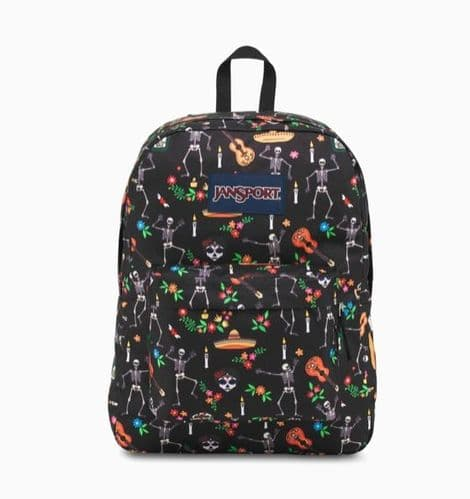 Jansport superbreak day of the dead